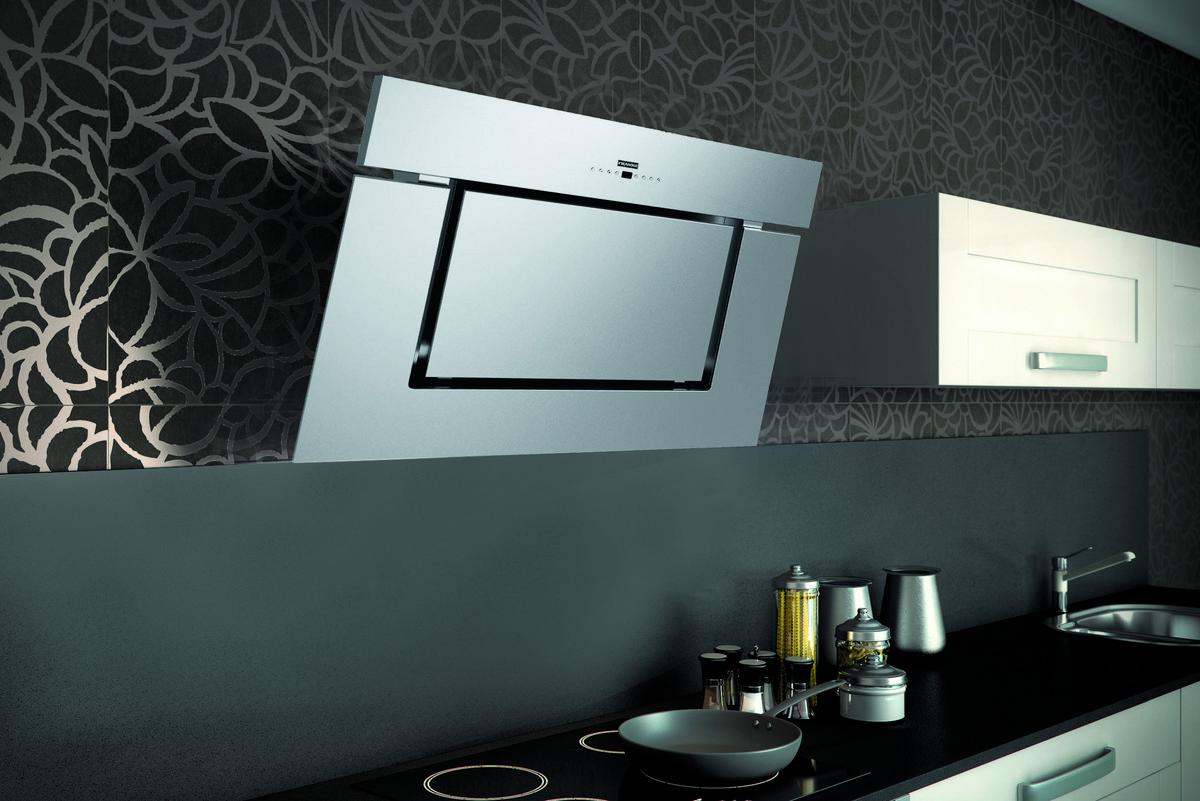 dunstabzug fabulous inselhaube in einer kche mit schwarzen und weien fronten with dunstabzug. Black Bedroom Furniture Sets. Home Design Ideas